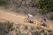 Mariske Strauss and Annie Last of Team Silverback - KMC during the Prologue of the 2018 Absa Cape Epic Mountain Bike stage race held at the University of Cape Town (UCT) in Cape Town, South Africa on the 18th March 2018<br /> <br /> Photo by Greg Beadle/Cape Epic/SPORTZPICS<br /> <br /> PLEASE ENSURE THE APPROPRIATE CREDIT IS GIVEN TO THE PHOTOGRAPHER AND SPORTZPICS ALONG WITH THE ABSA CAPE EPIC<br /> <br /> {ace2018}