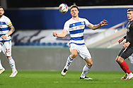 QPR Defender Rob Dickie(4) during the EFL Sky Bet Championship match between Queens Park Rangers and Brentford at the Kiyan Prince Foundation Stadium, London, England on 17 February 2021.