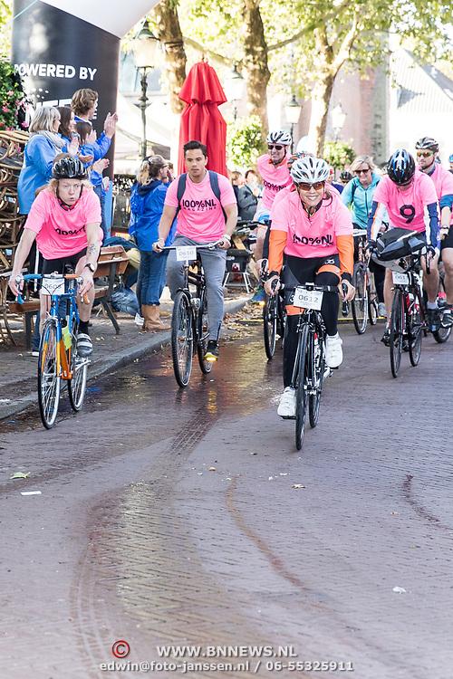 NLD/Amersfoort/20180929 - Bn-er fietsen de Zuiderzee Klassieker 2018, Leontien van Moorsel