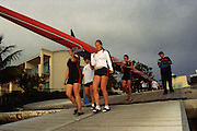 2001 Miami Hurricanes Rowing<br /> <br /> Caneshooter Archive Scan