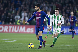 January 21, 2018 - Seville, Spain - ANDRE GOMES of Barcelona in action during the La Liga soccer match between Real Betis and FC Barcelona at Benito Villamarin Stadium (Credit Image: © Daniel Gonzalez Acuna via ZUMA Wire)