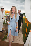 NOELLE RENO; SCOTT YOUNG, The Veuve Clicquot Gold Cup Final.<br /> Cowdray Park Polo Club, Midhurst, , West Sussex. 15 July 2012.