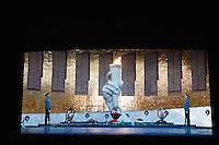 Russie, Federation de Volgograd, Volgograd, Statue e la mère patrie sur la colline de Mamayev, monument aux heros de la bataille de Stalingrad. // Russia, Volgograd federation, Volgograd, Motherland Statue at Mamayev Hill, Monument to the Heroes of the Battle of Stalingrad.