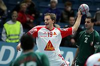 Håndball, Stavanger, Elfag Cup, 16/01-05,<br /> Algerie - Sveits,<br /> David Staudenmann,<br /> Foto: Sigbjørn Andreas Hofsmo, Digitalsport