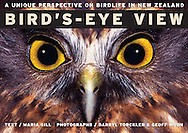 Bird's-Eye View is not just another New Zealand bird book. This book reveals exactly what 13 native birds see in their natural habitats via stunning panoramic images comparing these views with what humans can see. The text also explores the other senses birds use to survive, relating this to what they eat, where they live, how they get about and how they protect themselves from danger. ..Information in the book is right up to date and supplied by a world expert on avian vision. Each double-page spread features a scene of what a bird can see in its natural environment. Hold the book up and curl it around your head. Now you have a bird s-eye view!   Paperback, 32 pages.ISBN Number: 9780143318439