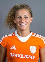 EINDHOVEN - MARIA VERSCHOOR van Jong Oranje Dames, dat het WK in Duitsland zal spelen. COPYRIGHT KOEN SUYK