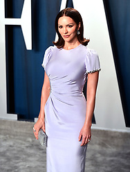 Katharine McPhee attending the Vanity Fair Oscar Party held at the Wallis Annenberg Center for the Performing Arts in Beverly Hills, Los Angeles, California, USA.