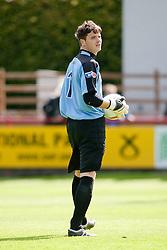 Brechin City's David Scott..Brechin City 1 v 2 Falkirk, The Ramsden Cup..©Pic : Michael Schofield.