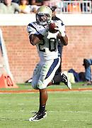Oct. 15, 2011-Charlottesville, VA.-USA- Georgia Tech running back Roddy Jones (20) makes a catch during the ACC football game against Georgia Tech at Scott Stadium. Virginia won 24-21. (Credit Image: © Andrew Shurtlef
