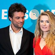 NLD/Amsterdam//20140331 - Uitreiking Edison Pop 2014, Sandra van Nieuwland en ......