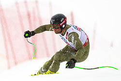 February 9, 2019 - Re, SWEDEN - 190209 Steven Nyman of USA competes in the downhill during the FIS Alpine World Ski Championships on February 9, 2019 in re  (Credit Image: © Daniel Stiller/Bildbyran via ZUMA Press)