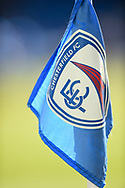 Chesterfield corner flag during the EFL Sky Bet League 2 match between Chesterfield and Notts County at the b2net stadium, Chesterfield, England on 25 March 2018. Picture by Jon Hobley.