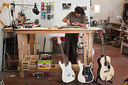 Electric Guitar repair workshop