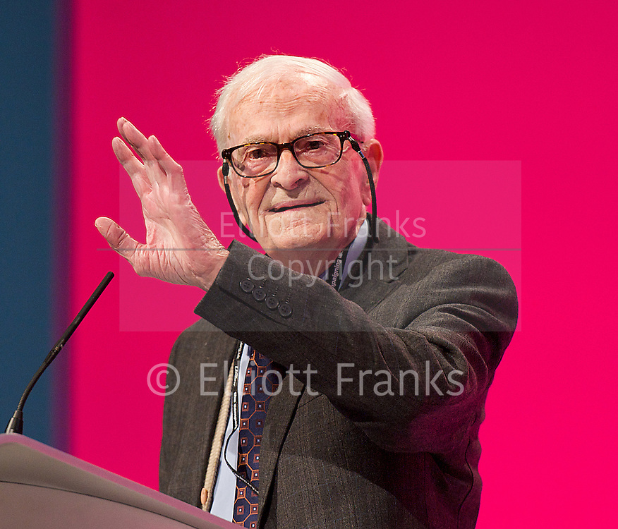 Labour Party Conference<br /> at Manchester Central, Manchester, Great Britain <br /> 24th September 2014 <br /> <br /> Harry Smith <br /> speaking during the Health & Care debate <br /> <br /> <br /> <br /> Photograph by Elliott Franks <br /> Image licensed to Elliott Franks Photography Services