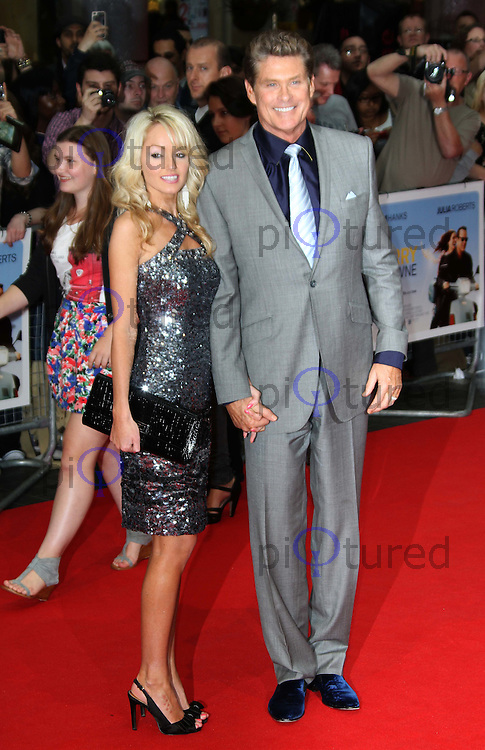 David Hasselhoff; Hayley Roberts Larry Crowne World Premiere, Westfield Shopping Centre, West London, UK, 06 June 2011:  Contact: Rich@Piqtured.com +44(0)7941 079620 (Picture by Richard Goldschmidt)