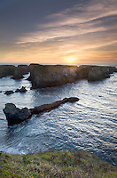 Sunset at Mendocino Headlands State Park, California