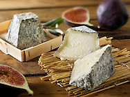 Traditional valencay French Cheese