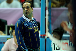 28-08-2010 VOLLEYBAL: WGP FINAL CHINA - USA: BEILUN NINGBO<br /> USA power beat China in straight sets / Referee Mohammad SHAHMIRI (IRI)<br /> ©2010-WWW.FOTOHOOGENDOORN.NL