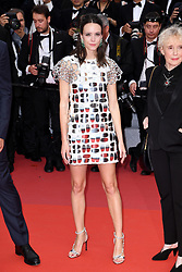 Stacy Martin attending the Oh Mercy! premiere, during the 72nd Cannes Film Festival. Photo credit should read: Doug Peters/EMPICS