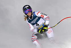 15.02.2021, Cortina, ITA, FIS Weltmeisterschaften Ski Alpin, Alpine Kombination, Damen, Super G, im Bild Laura Gauche (FRA) // Laura Gauche of France reacts after the Super G competition for the women's alpine combined of FIS Alpine Ski World Championships 2021 in Cortina, Italy on 2021/02/15. EXPA Pictures © 2021, PhotoCredit: EXPA/ Erich Spiess