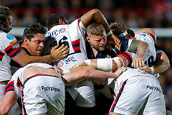 Bristol Rugby replacement Gaston Cortes and replacement Chris Brooker maul - Mandatory byline: Rogan Thomson/JMP - 25/05/2016 - RUGBY UNION - Ashton Gate Stadium - Bristol, England - Bristol Rugby v Doncaster Knights - Greene King IPA Championship Play Off FINAL 2nd Leg.