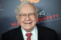 "Warren Buffet at the premiere of ""Becoming Warren Buffet"".<br />(NYC)"