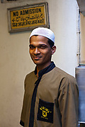 A waiter at Karims Restaurant, Old Delhi