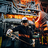 Industrial shoot at Liberty Steel Rotherham
