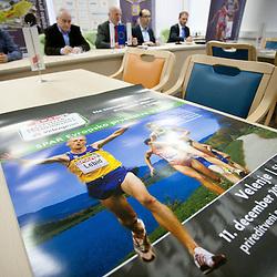 20111129: SLO, Athletics - Press conference of SPAR European Cross Country Championship Velenje 2011