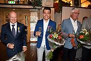 ROTTERDAM, 16-05-2020, AMVO<br /> <br /> Jan Smit heeft zijn lintje mogen ontvangen in de AMVO, Volendam.  De Volendammer wordt benoemd tot Officier in de Orde van Oranje-Nassau en is de jongste persoon die dit jaar een van de bijzondere koninklijke onderscheidingen krijgt. Jan Smit is onderscheiden voor zijn jarenlange werk als zanger, componist en presentator en vanwege zijn inzet voor verschillende goede doelen, zoals SOS Kinderdorpen, Make-A-Wish Nederland en het Oranjefonds.<br /> <br /> Op de foto:  Jan Smit
