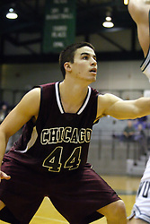 16 December 2006: Jake Pancratz. The University of Chicago Maroons upset  the Illinois Wesleyan Titans 64 - 60 at the Shirk Center in Bloomington Illinois.<br />