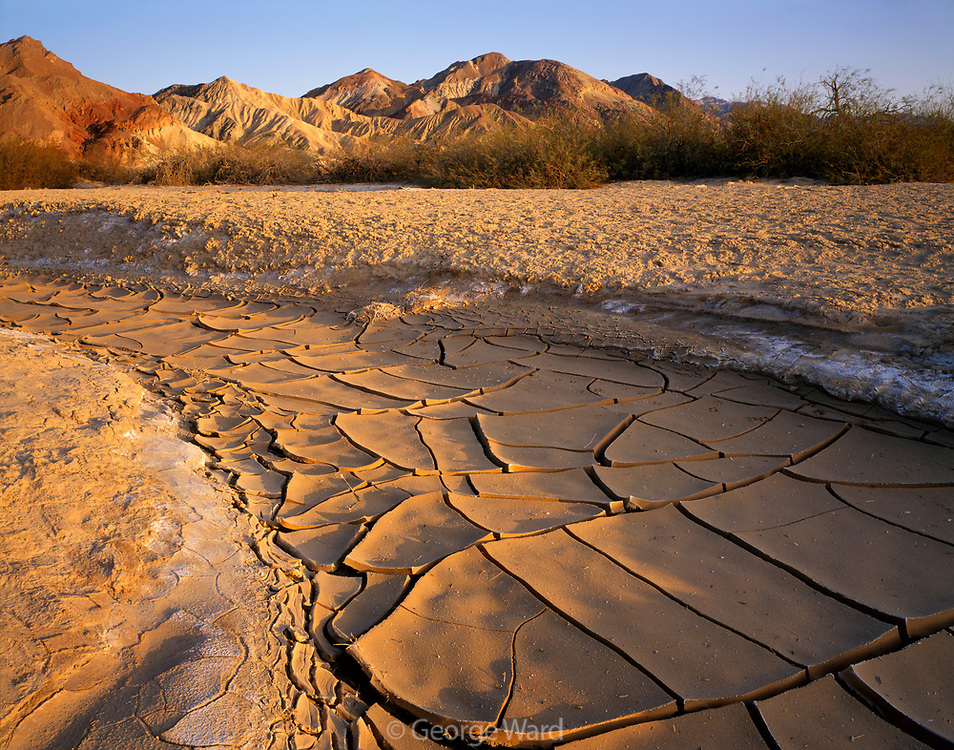 Desert Wash near Golden Canyon, Death Valley National Park, California