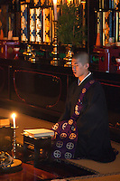 Chanting at morning prayers - Koya-san is one of the best places to experience a temple stay in Japan.  Ekoin is one of the most popular temples for this for foreign visitors.  One reason is that most of the young monks speak English, and Ekoin is well accustomed to foreign visitors.  Also Ekoin has morning prayer services and fire burning ceremonies that visitors can observe.