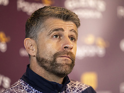 File photo dated 22-10-2020 of Stephen Robinson. Morecambe boss Stephen Robinson has been fined £1,000 by the Football Association after admitting a charge of improper conduct. Issue date: Monday October 11, 2021.