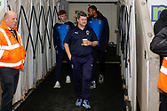 Wimbledon coach Simon Bassey in the tunnel during the EFL Sky Bet League 1 match between Coventry City and AFC Wimbledon at the Ricoh Arena, Coventry, England on 12 January 2019.