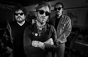 Dan Auerbach, center, Richard Swift, left and Leon Michels are seen at Easy Eye Studio on [Tuesday, August 18, 2015, in Nashville, Tenn. (Photo by Wade Payne/Invision/AP)