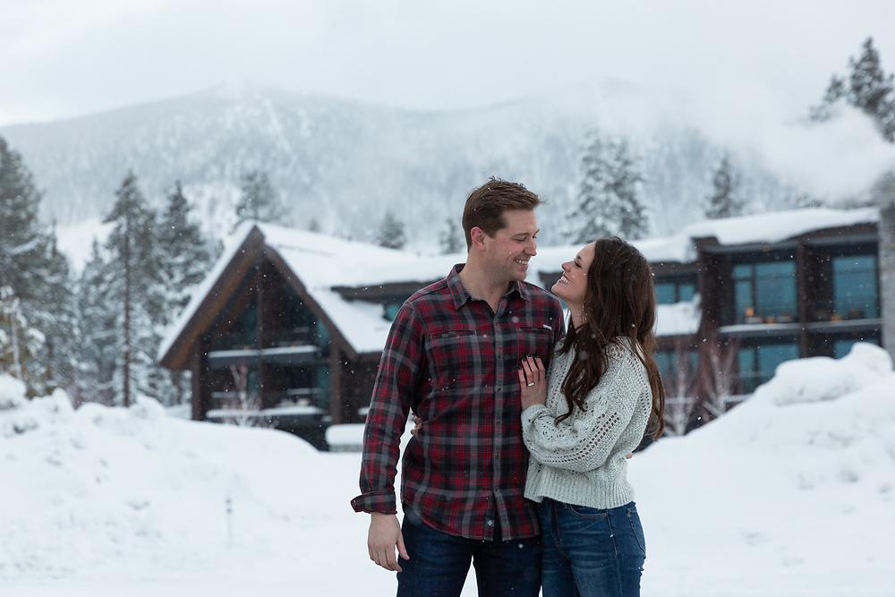 Edgewood at Tahoe Engagement Photography