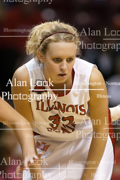 06 December 2006: Maggie Krick. In a non-conference game, the Cardinals of Ball State visited the Redbirds home at Redbird Arena in Normal Illinois on the campus of Illinois State University.<br />