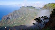Kalalau Lookout, Kokee Stae Park, Kauai, Hawaii