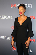 December 17, 2017-New York, NY-United States: Actress Samira Wiley attends the 11th Annual CNN Heroes All-Star Tribute held at the American Museum of Natural History on December 18, 2017 in New York City. The All-Star Tribute ceremony honors everyday people changing the world. Terrence Jennings/terrencejennings.com