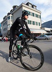 16.04.2013, Hauptplatz, Lienz, AUT, Giro del Trentino, Etappe 1, Lienz nach Lienz, im Bild Bradley Wiggins (Team Sky Procycling) // during stage 1, Lienz to Lienz of the Giro del Trentino at the Hauptplatz, Lienz, Austria on 2013/04/16. EXPA Pictures © 2013, PhotoCredit: EXPA/ Johann Groder