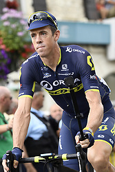 July 12, 2017 - Pau, FRANCE - Australian Mathew Hayman of Orica - Scott pictured before the start of the 11th stage of the 104th edition of the Tour de France cycling race, 203,5km from Eymet to Pau, France, Wednesday 12 July 2017. This year's Tour de France takes place from July first to July 23rd. BELGA PHOTO YORICK JANSENS (Credit Image: © Yorick Jansens/Belga via ZUMA Press)