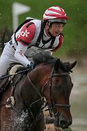 KELECYN PIRATE ridden by Toshiyuki Tanaka taking part in the Equitrek CCI*** cross country on day three of the Bramham International Horse Trials 2017 at Bramham Park, Bramham, United Kingdom on 11 June 2017. Photo by Mark P Doherty.