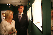 Princess Marie-Chantal of Greece and Prince Pavlos, Private Preview of the Grosvenor House Art and Antiques Fair. 13 June 2007.  -DO NOT ARCHIVE-© Copyright Photograph by Dafydd Jones. 248 Clapham Rd. London SW9 0PZ. Tel 0207 820 0771. www.dafjones.com.