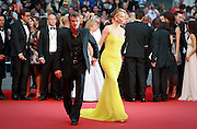 CHARLIZE THERON, SEAN PENN  - 68th CANNES FILM  FESTIVAL RED CARPET FOR THE  FILM 'MAD MAX: FURY ROAD'<br /> ©Exclusivepix Media