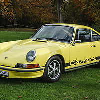 1973, Porsche 911 Carrera RS  at Rennsport Collective at Stowe House, Buckinghamshire, UK, on 1 November 2020