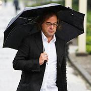 NLD/Amsterdam/20100826 - Uitvaart RTL journalist Conny Mus in Amsterdam, Hans Laroes
