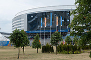 The Minsk Arena for Gymnastics on the 20th June 2019 in Minsk in Belarus. The 2nd European Games is held in Minsk, Belarus from the 21st June to the 30th June.