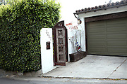 The house of Lindsay Lohan, on the Hollywood Hills in Los Angeles, was robbed by the Bling Ring on August 23, 2009. Lohan moved out soon afterwards. (NOT FOR PUBLICATION: 2267 El Contento Drive, CA 90068, USA)