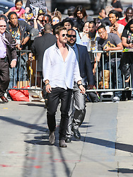Karen Gillan is seen arriving at 'Jimmy Kimmel Live' in Los Angeles, California. NON-EXCLUSIVE April 25, 2018. 25 Apr 2018 Pictured: Chris Hemsworth. Photo credit: BG017/Bauergriffin.com / MEGA TheMegaAgency.com +1 888 505 6342